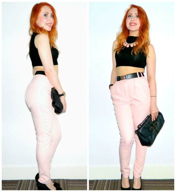 pink trousers 1
