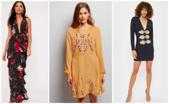 Pretty Little Thing New Look Topshop dresses in the sale bargain summer to autumn buys