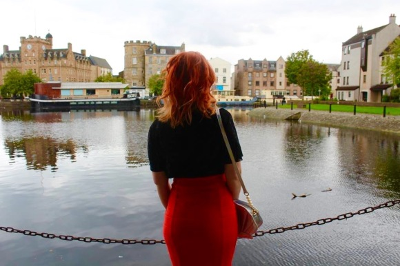 Blogger Twenty-Something City at The Shore Leith Edinburgh