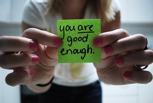 You are good enough Impostor Syndrome
